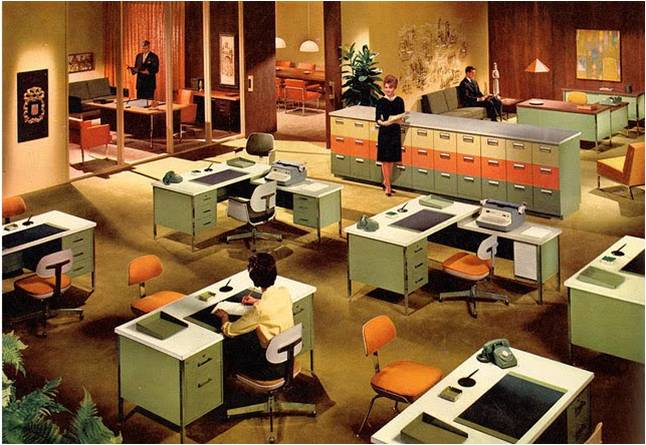 Office Design Evolution
