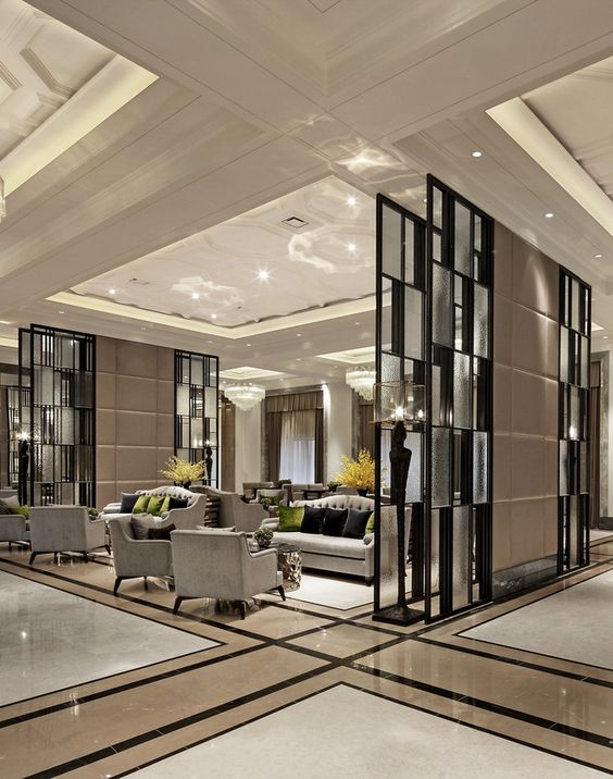 Hotel Room Designs: How To Create A Modern Hotel Reception