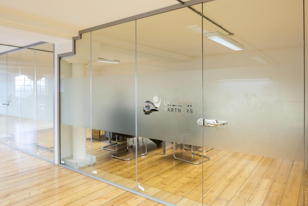 Acoustic Glass Partitions