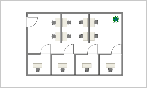 Office Partition Layout