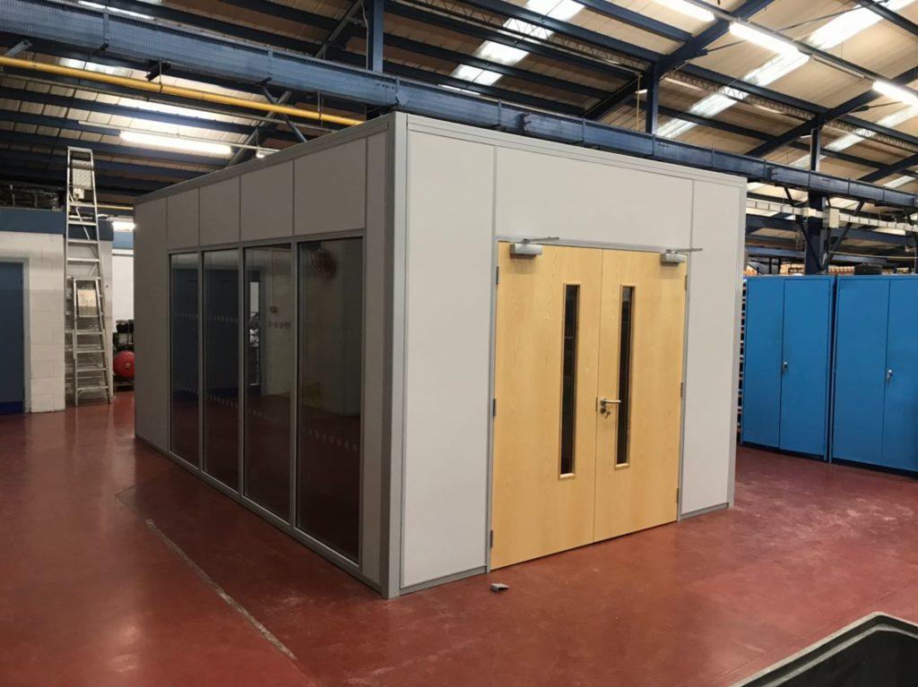 Modular Warehouse & Factory Offices